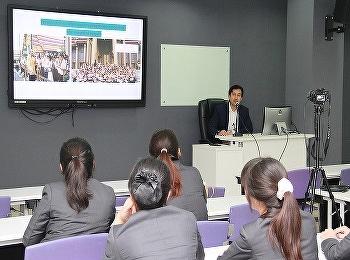 วิทยาลัยการจัดการอุตสาหกรรมบริการ จัดบรรยายหัวข้อ A Regional Tour Guiding and Tour Leading Techniques and International DMC to Share จากวิทยากรบริษัทท่องเที่ยวชั้นนำ Intrepid Travel (Melbourne),  Australia