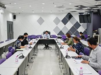 วิทยาลัยการจัดการอุตสาหกรรมบริการ  นำโดย ผู้ช่วยศาสตราจารย์ ดร.อาณัติ ต๊ะปินตา รักษาราชการแทนคณบดีวิทยาลัยการจัดการอุตสาหกรรมบริการ  พร้อมด้วยคณาจารย์ และเจ้าหน้าที่ จัดประชุมแผนรับนักศึกษาจีน ประจำปีการศึกษา 2564 ครั้งที่ 2