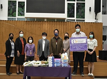 College of Hospitality Industry Management Prepare initial medication and herbs for students who are quarantined to do Home Isolation and those who are waiting for treatment according to the treatment measures of the hospital
